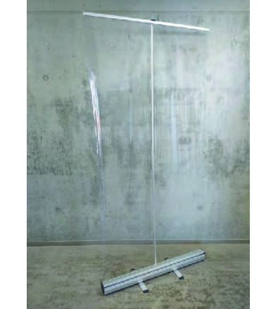 Transparante Rollbanner (85 x 200 cm)