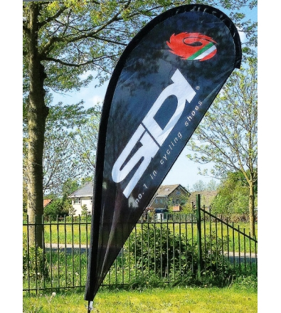 Drop flag set (62 x 160 cm)