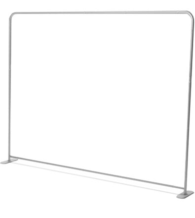 Stretch wall straight set (300 x 230 cm)